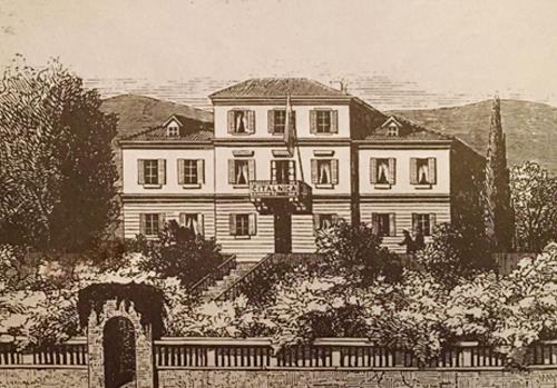 Stampa del 1872 firmata Francesco Bachrach (Biblioteca Civica di Trieste)