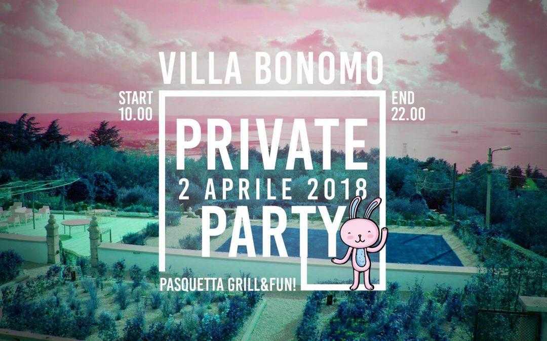 Villa Bonomo – Private Party