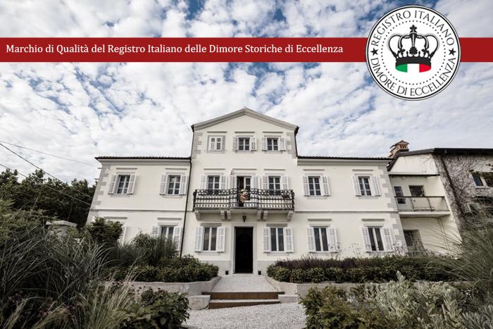 Marchio di qualità dimore storiche di eccellenza per Villa Bonomo